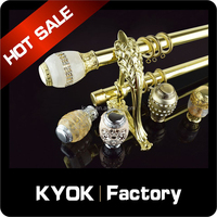 KYOK China made 28mm Decorative curtain rod end caps