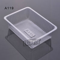 A119 BAKEST good quality plastic clear clamshell cake box with high quality
