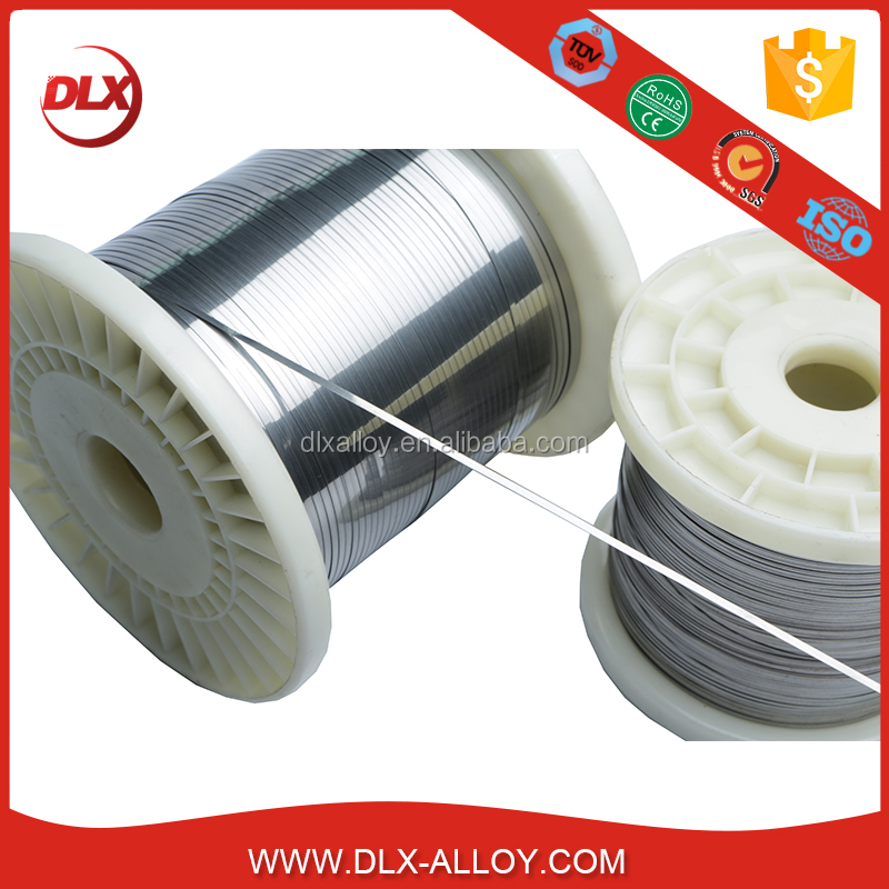 Resistance ribbon wire ( OCr21aL6Nb) ferro chrome aluminum alloy