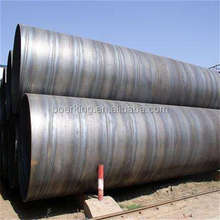 high quality hot rolled ASTM A53 grade b Q235 ssaw steel pipe