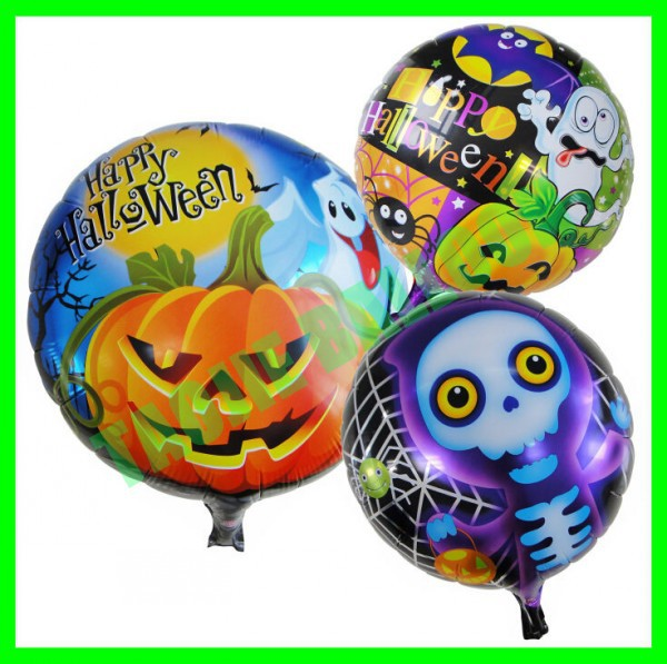 Halloween balloon,Pumpkin and Skull Balloon