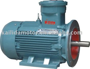 Horizontal & vertical Explosion-Proof AC Motors with CE,EX,MA certification