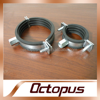 Pipe/ Duct Fitting Rubber Saddle Clamp