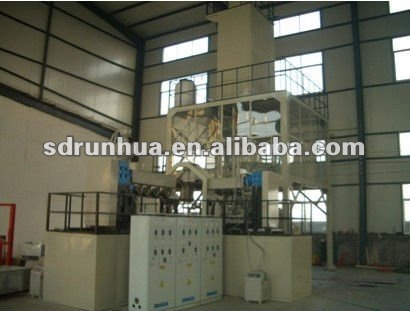 plastic package bag making machine pvc heat shrinking packaging film machine