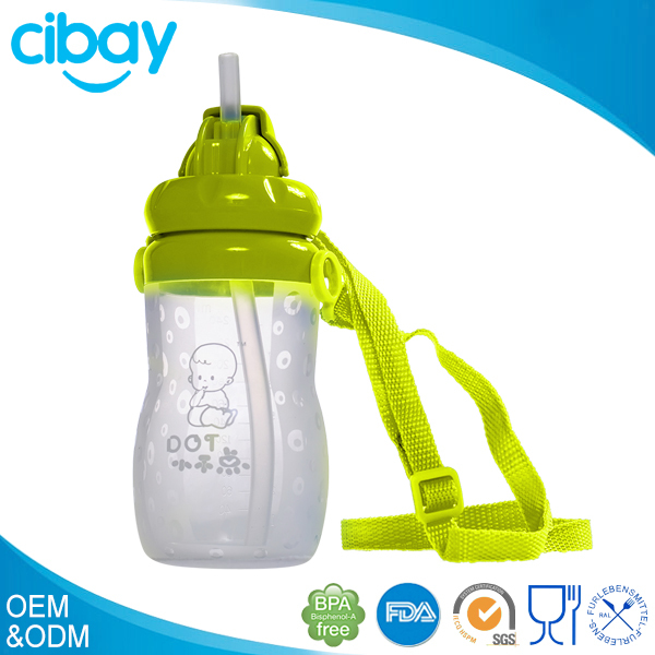 Plastic and silicone type universal baby bottle handles