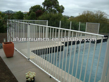 High qaulity round aluminum fence post