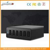 CE/FCC/ROHS Approval Wholesale Multi Port Cell Phone 6 Port USB Charger for Christmas Promotion