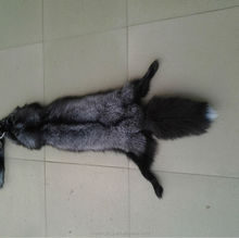 High quality silver fox pelts for sale