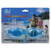 YIWU factory offer swim goggles for kids funny children swimming goggle Cheap