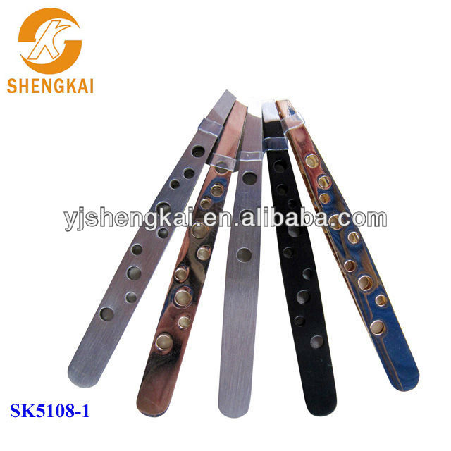 stainless steel 5pcs china personal care beauty products eyebrow tweezers