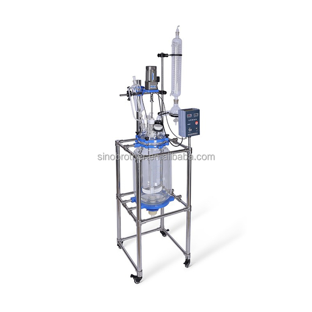 New design methanation machine microwave glass lined reactor price with CE marked