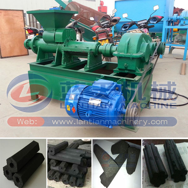 Extruding Type Coal Rod Coal Bar Making Machine