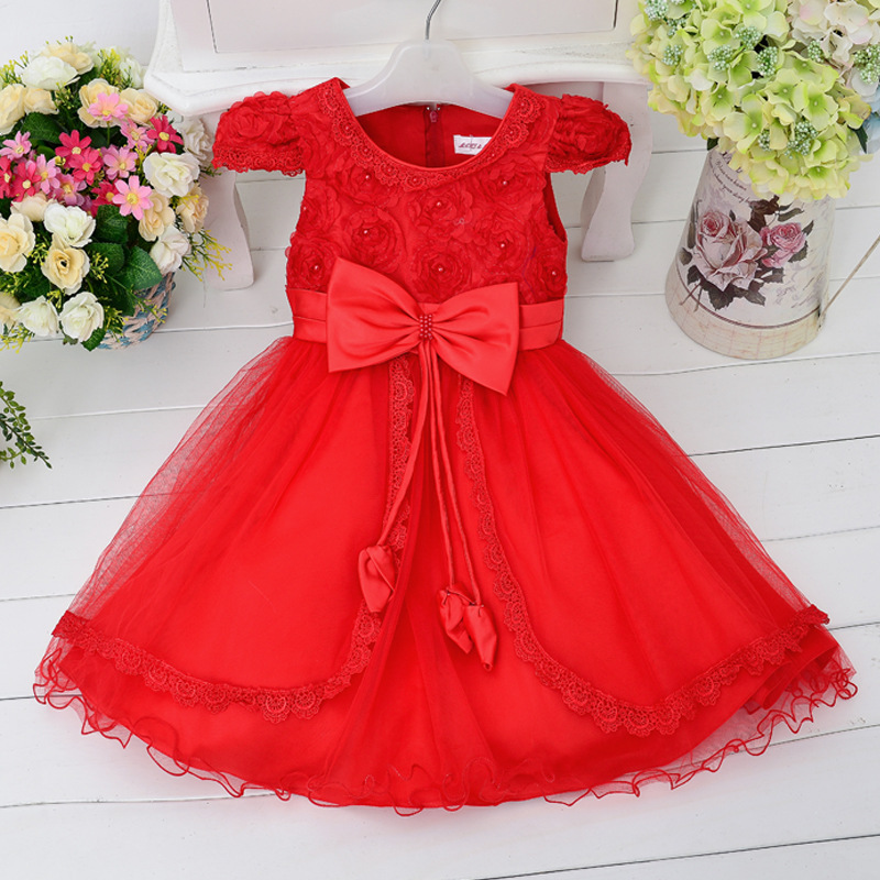 New Fashion Butterfly Design Princess Kids Dresses For Girls Picture