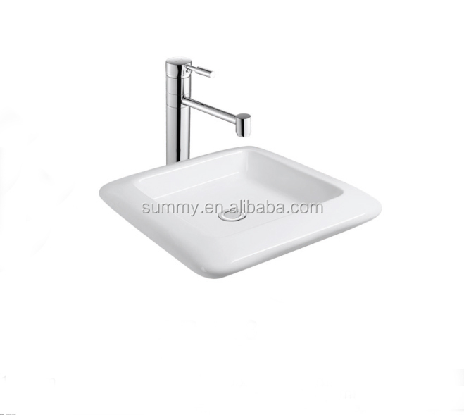 small size hospital hand washing vanity sink SC099