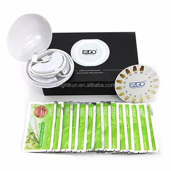 teeth whitening kit with portable teeth whitening accelerator set with teeth whitening strips