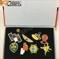 Pokemon B/W2 Unova 8 Metal League Badge Pin Pip Gen 5 Cosplay Prop Collection Set 8 badges Box