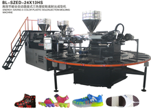 Three color TPR shoe sole making machine