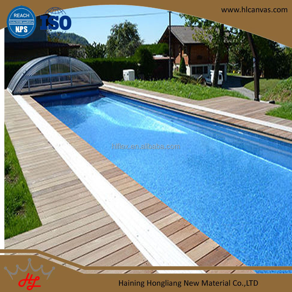 heavy duty tarpaulin materials for container swimming pool