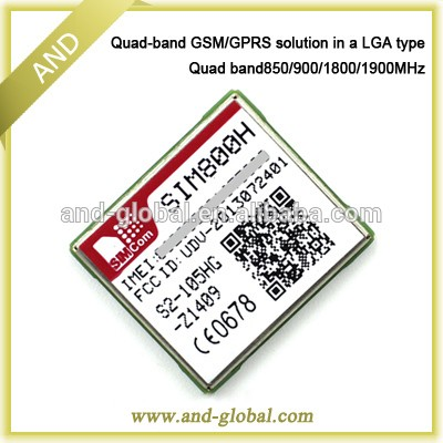 Quad Band Wireless Communication GSM Module SIM800F the Replacement for SIM900