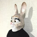 Dress Up Costume cosplay mask rabbit head mask Halloween full head mask