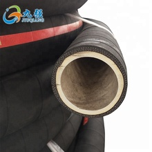 High quality fabric braided wrapped solid rubber hose transportation of water or air
