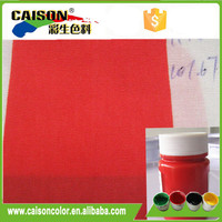 good migration resistant Bright red staining pigment coloring