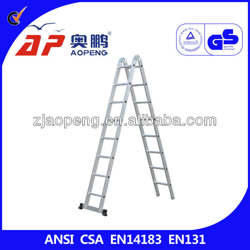 Aluminum Folding Hunting Ladder Stand 4.86M
