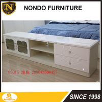 2017 newest wood floor standing cabinet furniture for living or bed room E8502G
