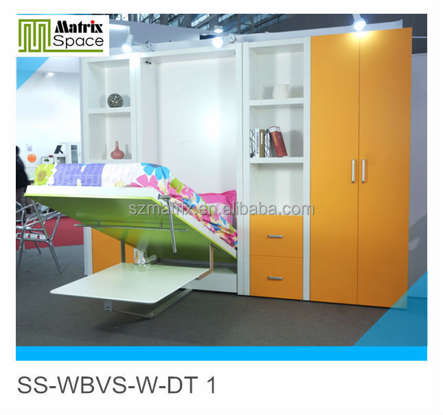 Wall bed for kids,folding wall bed transformable bed,Murphy bed,Hidden wall bed,