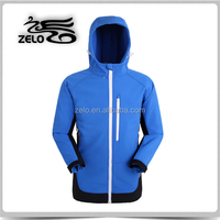 women 4 way stretched bonded with fleece hoody softshell jacket