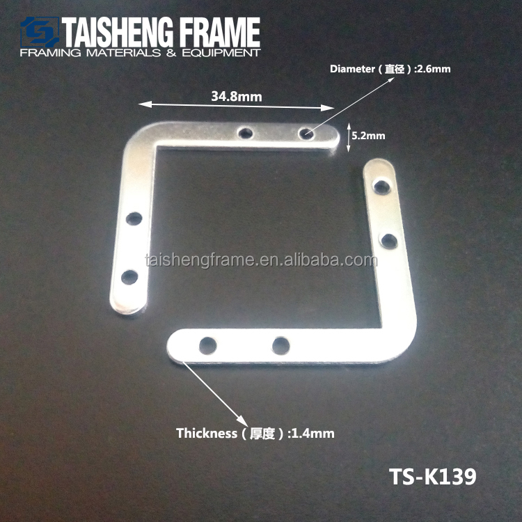 Aluminum alloy corner connector for the photo frame