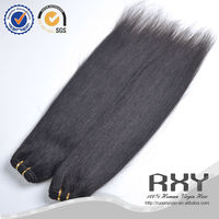 popular style yaki weave wavy hair brazilian hair mink yaki hair