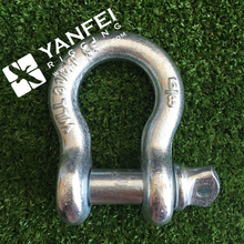 "2"" inch / WLL 35 tons US Type shackle/ G209 safety pin shackle"