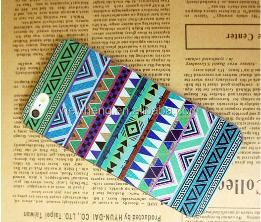 For iphone 5S Aztec Printing Back Case For iphone 5 5S