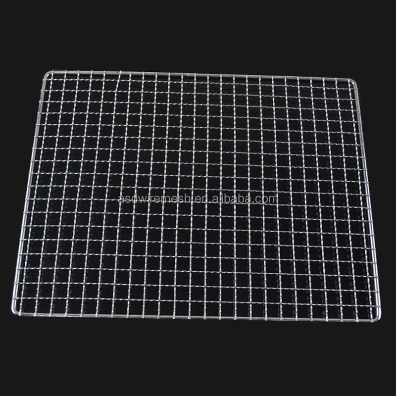 stainless steel barbecue wire mesh net(factory)