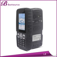 IP67 explosion-proof walkie talkie, smallest cell phone, economic dual sim mobile phone