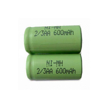 High quality 2/3aa rechargeable nimh battery pack whole sale from factory in China