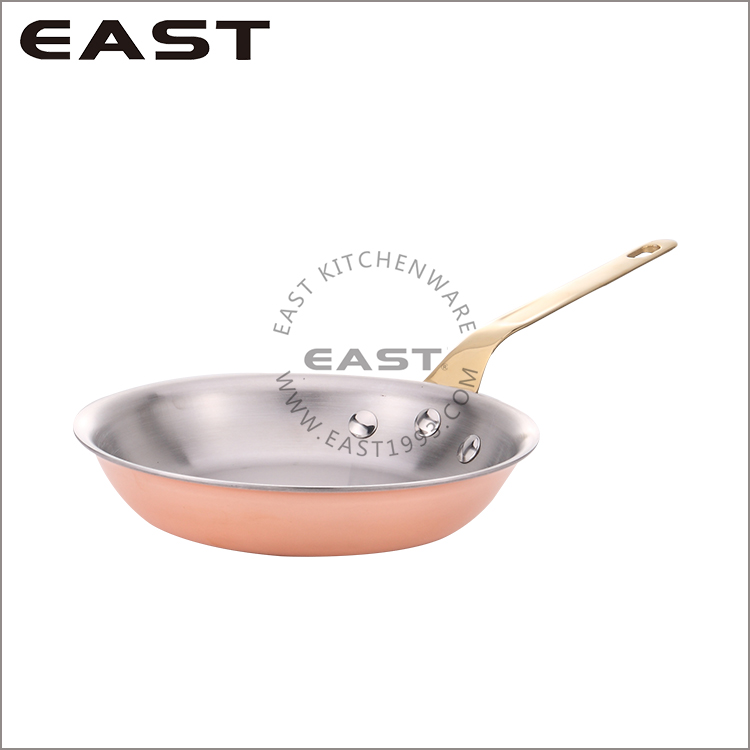 Supreme Quality Copper Frying Pan Master Chef/Copper Chef Pan
