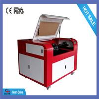 900x600mm 9060 fabric laser cutting machine / laser cutter