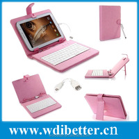"New Leather Style Cover Case With USB Keyboard For 7"" inch Tablet PDA For Android PC"