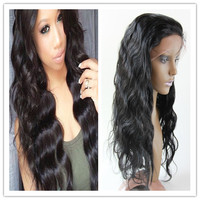 7a grade high quality unprocessed human hair full lace wig in dubai