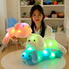Customized puppy animal pillow/ Night Light LED Stuffed Animals dog toy