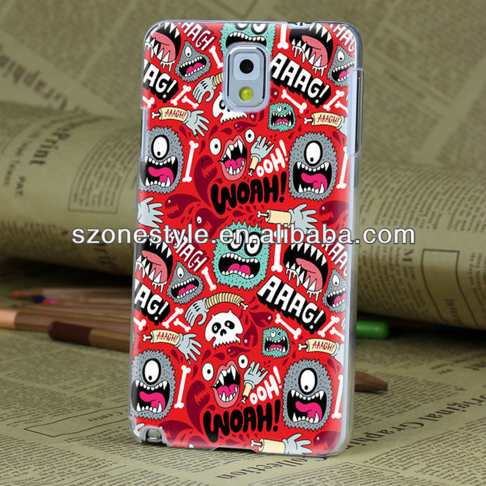 Animal design fancy case for samsung galaxy note 3