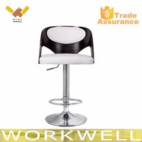 WorkWell wood bar chair for night club Kw-B2350-1