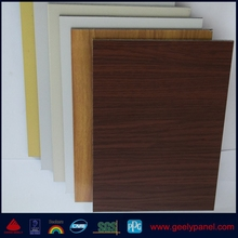 Aluminium Composite panel board PVDF/PE coated for wall cladding