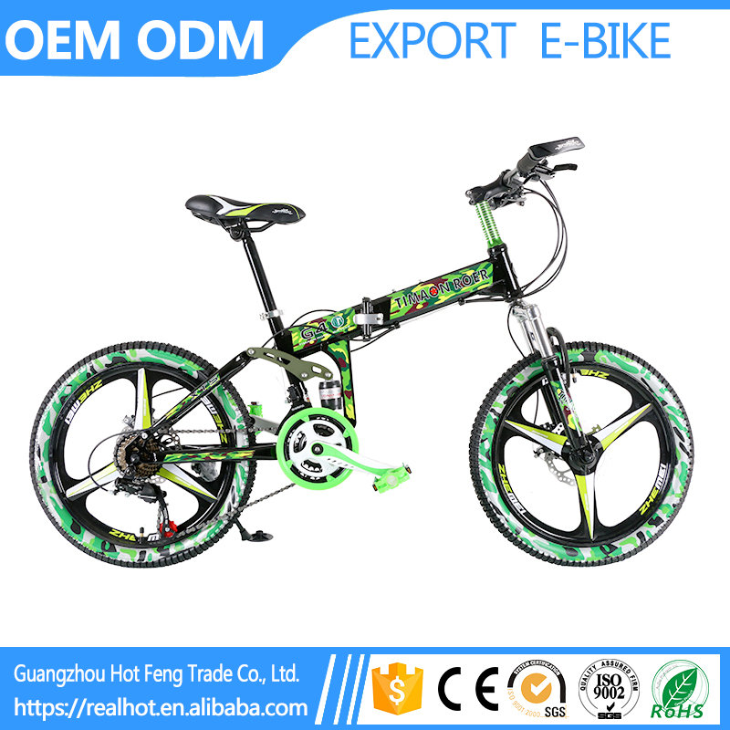 20 inch Wholesale 21 Speed City Road Light Cheap Mountain High Performance beach cruiser bicycle folding