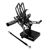 Top-selling economic and efficient rearset CNC aluminum billet alloy footrest rearset pedal