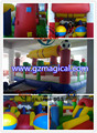 0.5mm commercial grade inflatable jumping obstacle games inflatable bounce