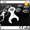 4pcs Covered Many Logos Auto Tyre Valve Cover Car tire valve cap with a wrench key chain