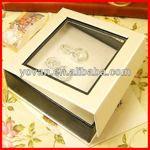 PVC Window Paper Packaging Box Gift